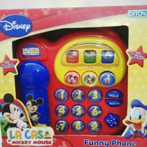 Telefono De Mickey Con Sonido