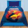 Acolchado+sabanas+toallón+cortinas Infantiles Spiderman