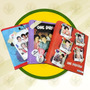 Carpeta Escolar N*3 Justin Bieber C/anillo T/ Carton Matader