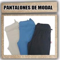 Pantalones Largos De Modal * * Talles Especiales** Nuevos!