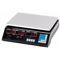 Balanza Digital 40 Kg Doble Visor Bateria Recargble Memorias