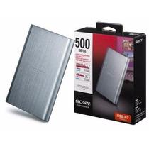 Disco Rígido Sony 500 Gb Nuevo Usb 2.0 Y 3.0 Oferta!