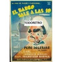 Afiche El Barco Sale A Las Diez Con Pepe Iglesias 1948