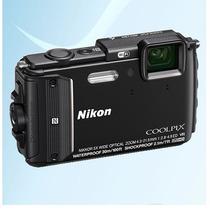 Rosario Camara Sumergible 30mts Nikon Aw130 Full Hd 16m Wifi