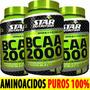 Bcaa 2000 Star Nutrition Aminoacidos Encadenados Recuperacio