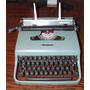 Maquina De Escribir Olivetti Lettera 22 Con Maletin