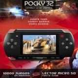 Consola Portatil 10000 Juegos Memoria 32 Gb Lector Micro Sd