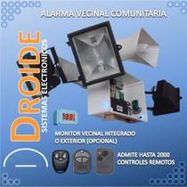 Alarma Vecinal / Comunitaria