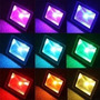 Reflector Led Rgb 50w Color Control Remoto Local Obelisco