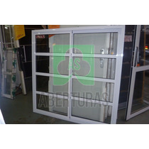 Aberturas: Ventana Aluminio Blanco Repar Horizontal 150x150