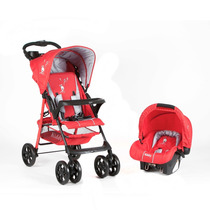 Coche Cuna Caddy Kiddy C 15 + Huevito + Mecedor Imperdible