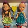 Elsa Y Anna Frozen Muñecas Nenas 15cm