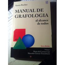 Libro: Manual De Grafología De Karen Rocher