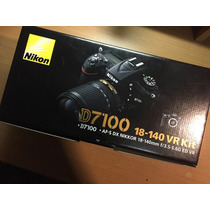 Nikon D7100 Kit 18-140 Vr Nuevas Originales