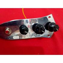 Circuito P/ Bajo Jazz Bass Pasivo Pot Alpha Cap Orange Vtg