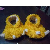 Pantuflas Garritas , Color Amarillo