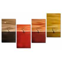 Cuadros Decorativos Modernos Tripticos Sillon Dormitorio