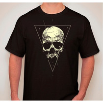 Remera Estampada Calavera Skull 2 Hardcore Pop Heavy Dark