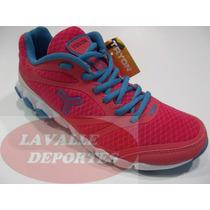 Zapatillas De Running Tryon Stimulus Mujer Original D De Fab