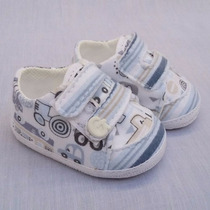 Zapato Para Bebé Gorditoo - Zapatilla De Tela Estampada