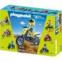 Playmobil 5525 Moto Para Motocross -palermo -envíos
