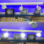 Aplique Techo Barral Riel Con 3 Luces Dicro 6w Sica Led