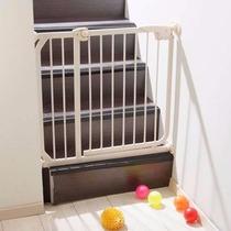 Puerta Seguridad Mascotas Escalera Niños Expandible