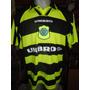 Camiseta Fútbol Celtic Escocia Umbro 1997 1998 Larsson #7 L