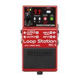 Boss Rc3 - Pedal Loop Station 3hs De Grabación