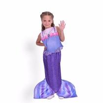Disfraz Princesita Sofia Cuento De Sirena Violeta Original