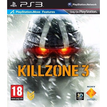 Killzone 3 Ps3 Nuevo Excelente Disco Fisico