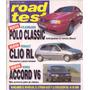 Revista Road Test Nº66 Polo Clasic Diesel-clio Diesel-honda