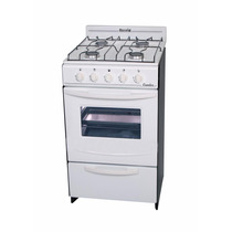 Cocina Blanca Candor Escorial Gas Natural 500 X 500 X 850 Mm