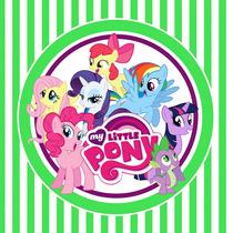 Kit Imprimible My Little Pony Candy Bar Mi Pequeño Pony Deco