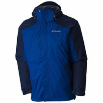 Campera Columbia Eager Air 3 En 1 Original Impermeable Polar