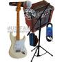 Combo Guitarra Micrófono Amplificador + Todos Los Accesorios