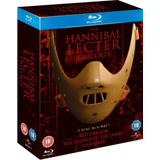 Hannibal Lecter Trilogy Box 3 Bluray Import Original Nuevo