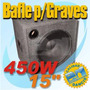 Bafle Para Graves 450w Woofer 15 Pulg By Dancis