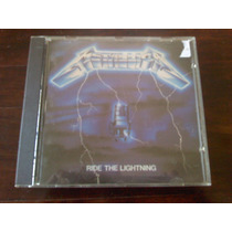 Cd Metallica / Ride The Lightning