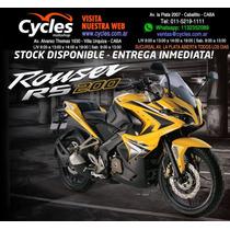 Bajaj Rouser Rs200 Okm 2016 Promocion Exclusiva Contado