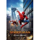 Posters Spiderman Homecoming Cine Lona Peliculas 90x60 Cm
