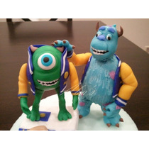 Adorno Monsters University En Porcelana Fria