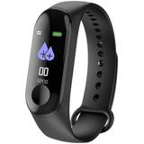 Reloj Smartband Inteligente Smartwatch M3 Ritmo Cardiaco Presion Arterial Deporte Running Notificaciones