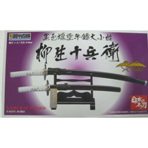 Espada Samurai Escala 1:3 Mide 34 Cm
