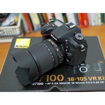 Body Nikon D7100 En Caja Más Memoria 8gb Clase 10 Sólo Body
