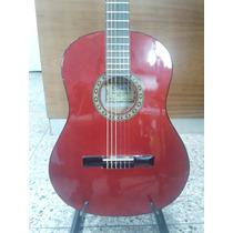 Guitarra Clásica Criolla Gracia Color Roja Nueva!!