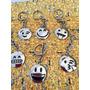 Llaveros Acero Inox Con Emoticones Ideal Souvenir X 10