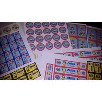 Plancha De Etiquetas Lavables Todo Tipo De Eventos!