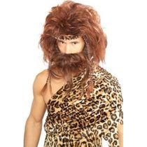 Peluca Disfraz De Cavernícola Imp Usa Divina!! Halloween