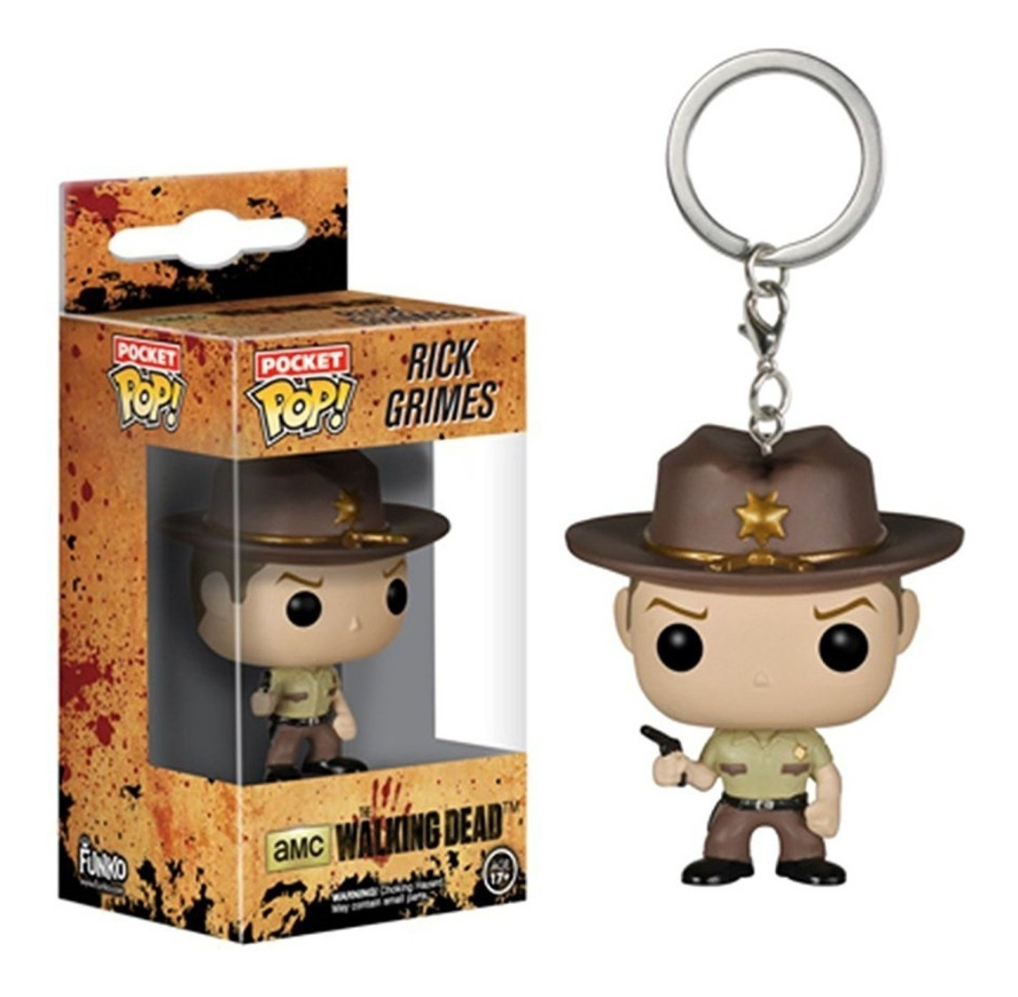 LLAVERO FUNKO The Walking Dead - Rick Grimes